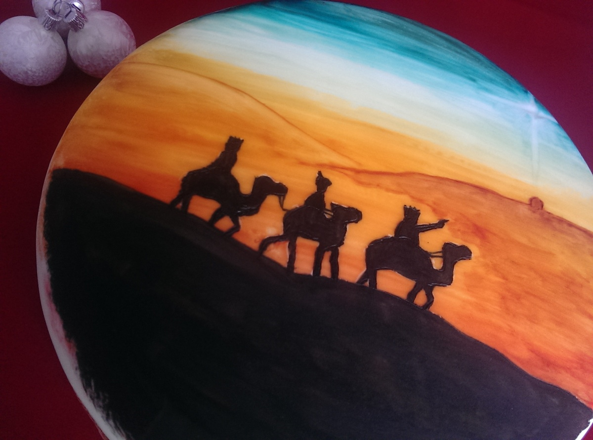 The Three Wise Men Christmas Cake