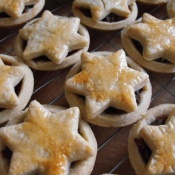 Mince pies - filled with my home-made mincemeat!