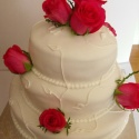 50th wedding anniversary wedding cake