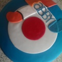 RAF and Hockey themed cake