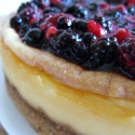 Summer fruits cheesecake - super yummy!