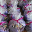 Lots of little bags of Easter nests. Perfect for an Eastery present!