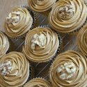 Coffee and walnut cupcakes - my favourite!