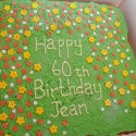 Gardeners 60th birthday cake