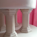 Top and second tier pre-painting