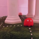 I think these little guys were trying to hide from Pacman!